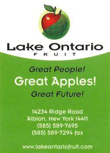 Lake Ontario Fruit
